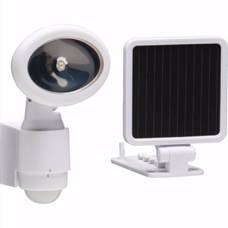 dualhead security flood light solar powered motion sensing security lighting from creative industries